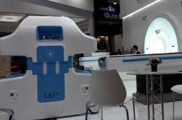 """""""黑科技""""亮相濱海 醫學影像診斷機器人或明年投用"""