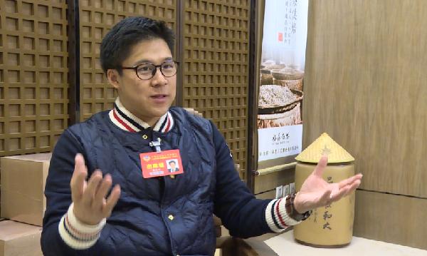 天津市政协委员霍启刚谈体育