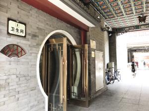 古文化街公厕让游客感受复古范儿
