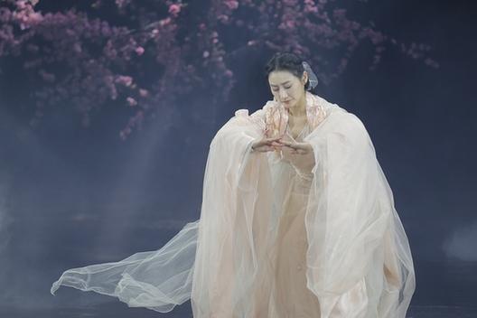 舞台剧《三生三世十里桃花》在天津大剧院上演