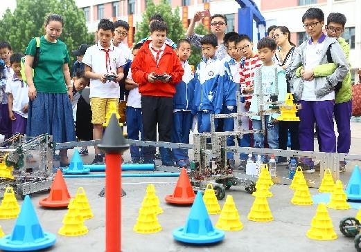 青少年机器人竞赛举行