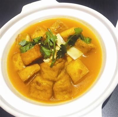 蟹黃燴豆腐