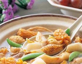 海鲜煲豆腐