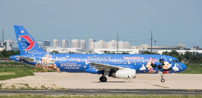 繁忙的天津濱海國際機場