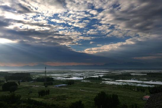 薊州于橋水庫生態美景光彩奪目
