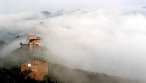 金山(shan)嶺長城現美麗雲(yun)海