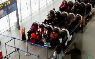新型智能座椅入駐天津機場2號航站樓