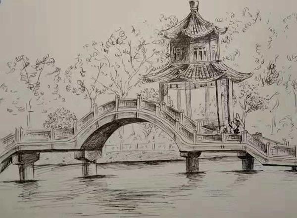 二等奖《桥·亭》