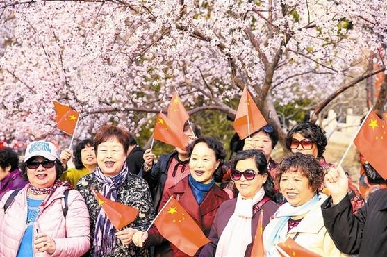 桃花節開幕