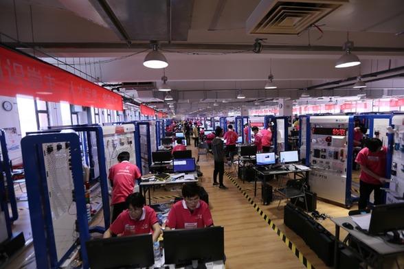 自动化生产线安装与调试国际邀请赛举行