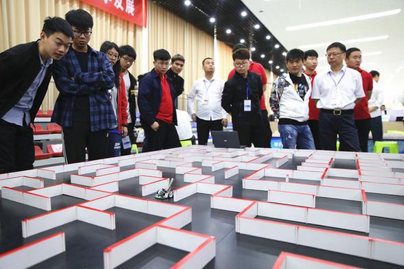 2019第四届IEEE电脑鼠走迷宫国际邀请赛在天津渤海职业技术学院举行
