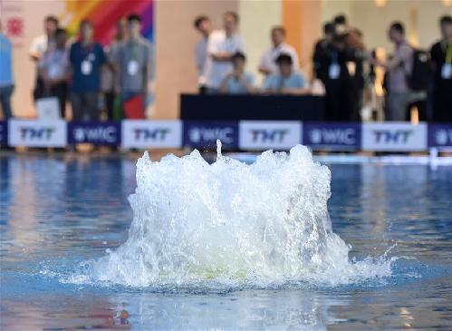 2019世界智能水下機器人挑戰賽在天津舉行