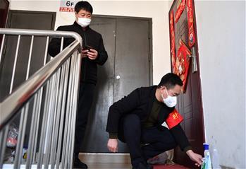 天津︰成(cheng)立基層臨時(shi)黨支部加(jia)強疫情防控