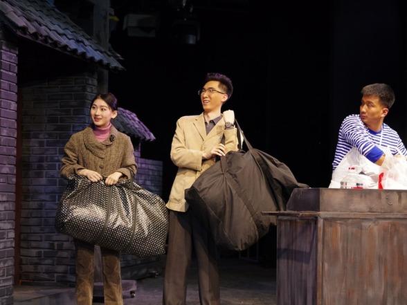 京味兒(er)話劇《北京鄰居》在天津音樂學院錄制上演