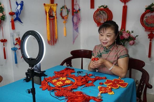 """傳(chuan)統非遺技(ji)藝(yi)︰在""""雲""""上煥發生機(ji)"""
