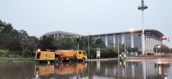"""天津:全力以赴,不讓""""城市看海""""再現"""