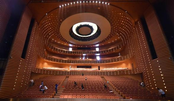 天津大劇院啟動劇場全面消殺工作