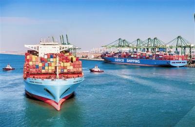 天津港集裝箱吞吐量雙創歷史新紀錄