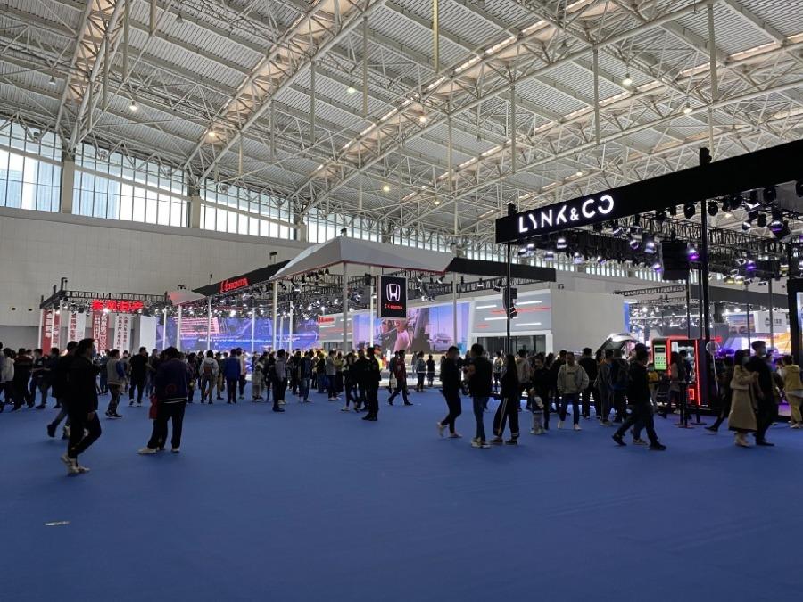 2020(第十九屆)天津國際汽車貿易展覽會開幕