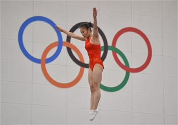 2020年全國蹦床錦標賽女子青少年組個人賽況