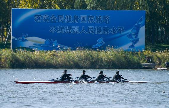 全民健身——天津市第二屆水上運動會開幕