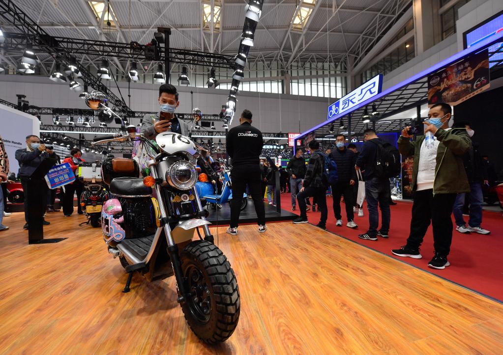 第二十屆中國北方國際自行車電動車展覽會在津開幕