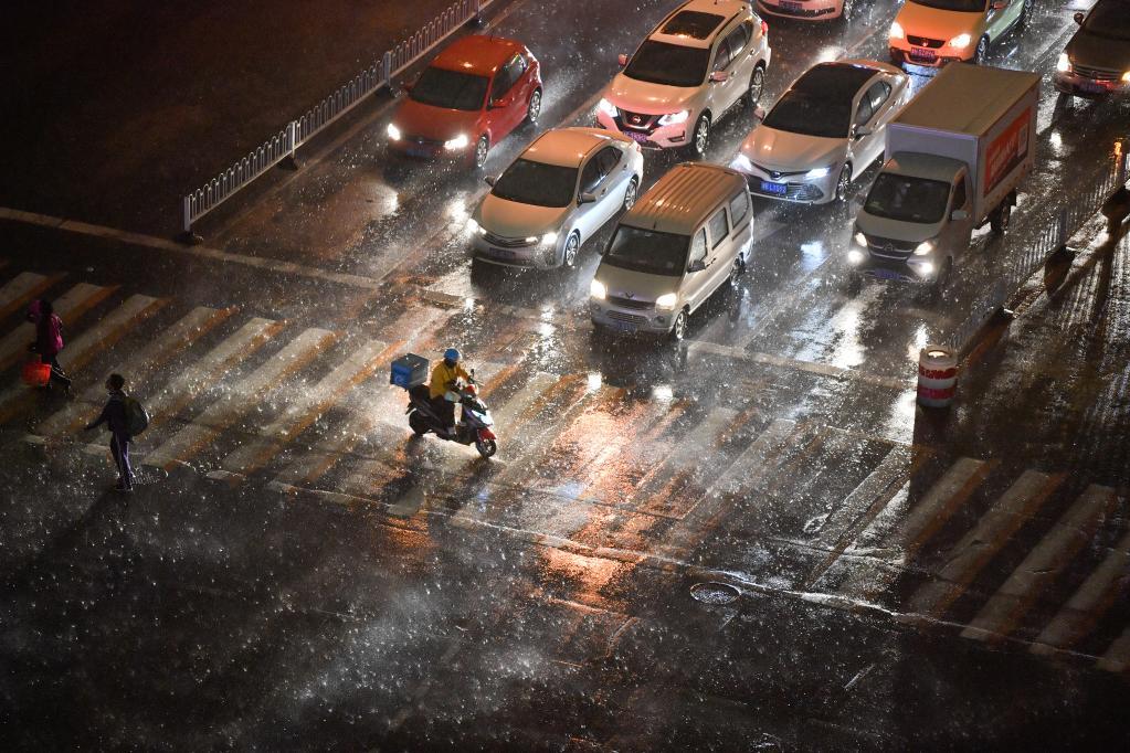天津遭遇雷電天氣