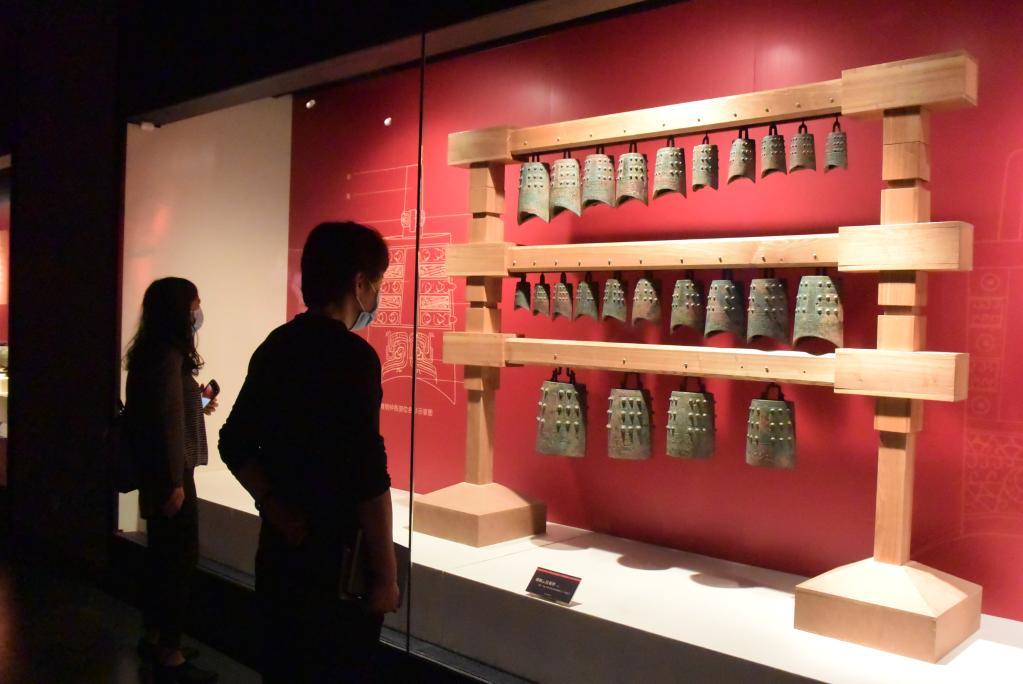夏商周文物特展亮相天津博物館