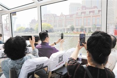 """海河遊船""""下遊""""新航線正式啟航"""