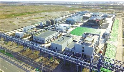 天津南港中海油油田化學渤海生産中心建設項目完工