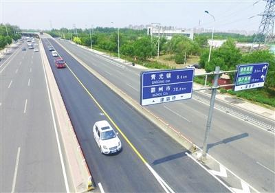 津霸立交橋恢復橋面通行