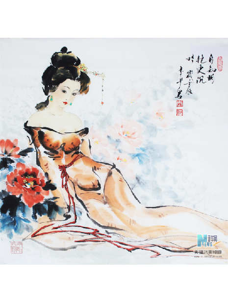 李少君《牡丹仙子》
