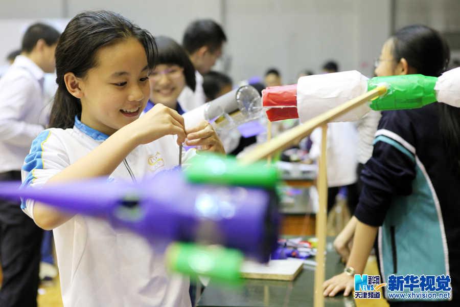 中学生科技手工小制作观光塔模型大全图解