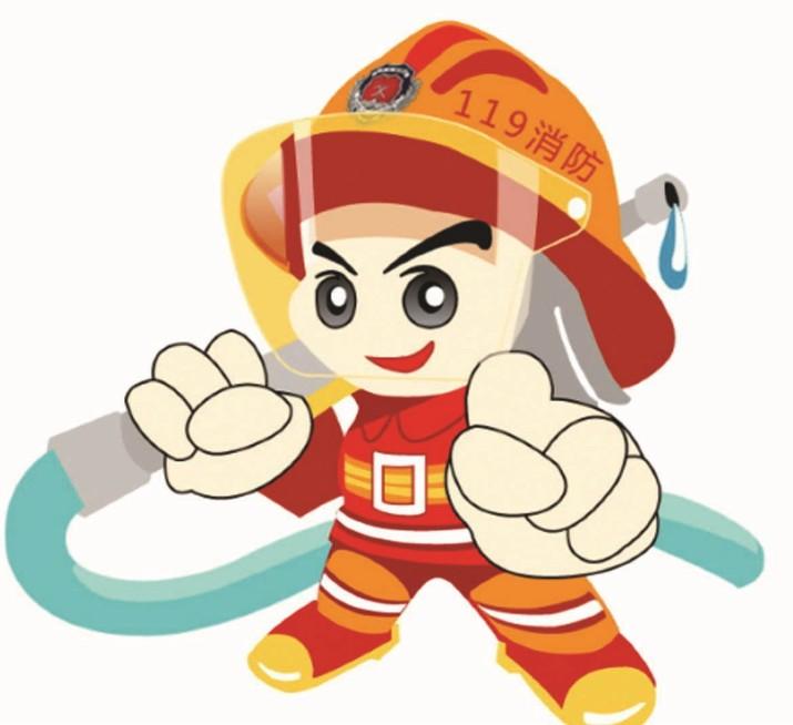 消防知识漫画图片图片
